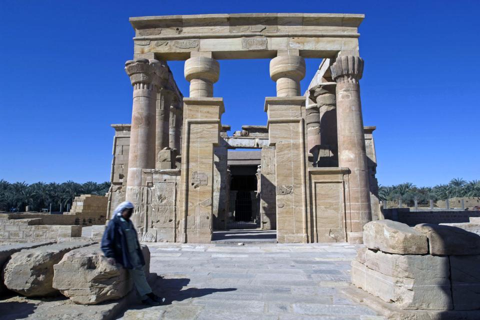 L'oasis de Kharga , Le chemin de Kharga , Egypte