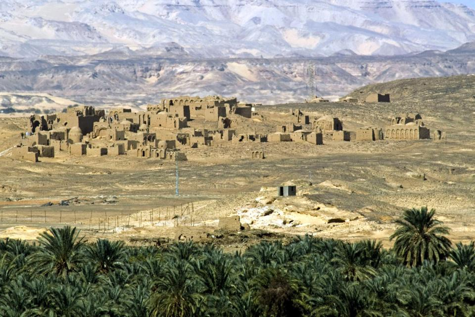 L'oasis de Kharga , Egypte