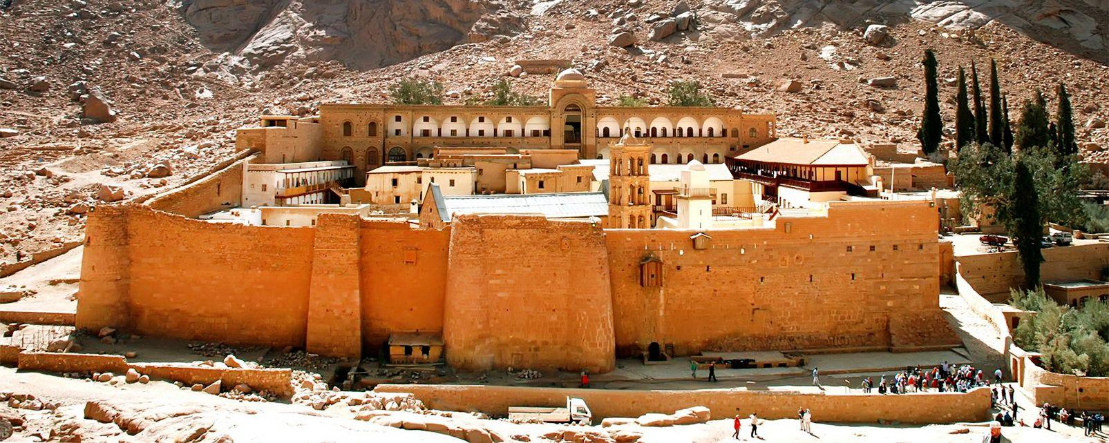 Les sites, sainte-catherine, monastère, orthodoxe, christianisme, religion, egypte, afrique, moyen-orient, sinaï, moïse, mont