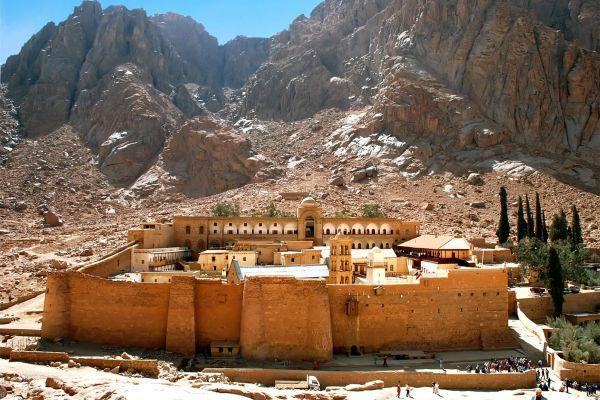 Sankt Katherine in Ägypten, Das Katharinenkloster, Die Sehenswürdigkeiten, Scharm el Sheikh, Ägypten