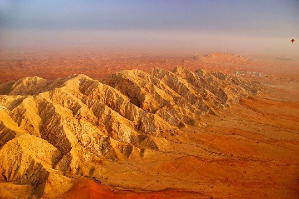 Il deserto , Il deserto di Rub' al-Khali, Abu Dhabi , Dubai e gli Emirati