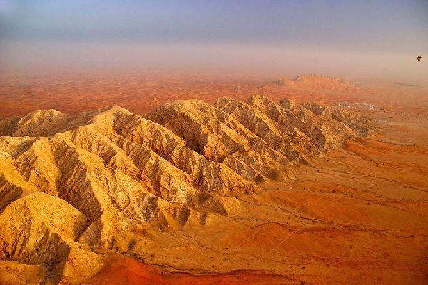 The desert , The Rub' al-Khali desert, Abu Dhabi , United Arab Emirates