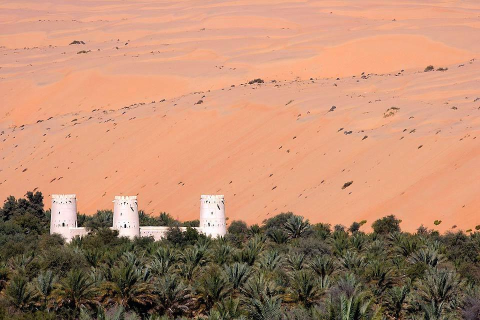 The Liwa oasis , United Arab Emirates