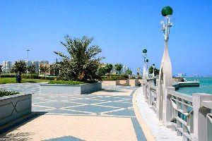 The cornice of Abu Dhabi , Abu Dhabi, the Corniche , United Arab Emirates