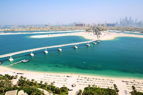 Die Palmeninseln von Dubai , Die Vereinigten Emirate