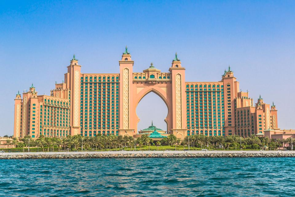Palm islands duba emirats arabes unis emirats for Hotels unis de france