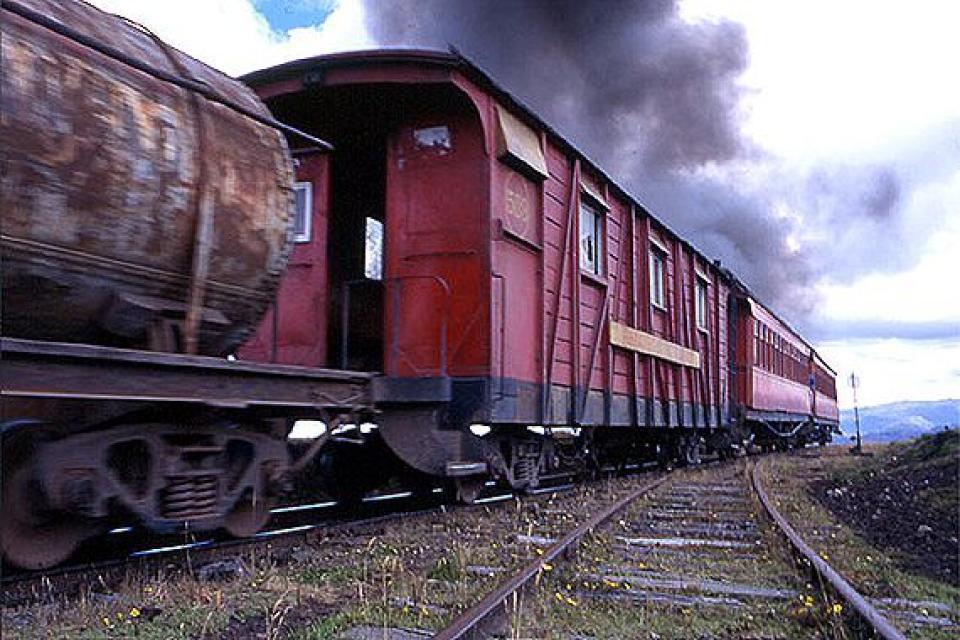 Le train Rioramba-Alausi-Duran , Equateur et Galapagos