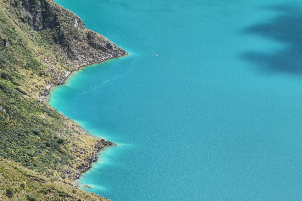 The gorgeous lagoon, The Quilotoa Lagoon, Landscapes, Ecuador and Galapagos Islands