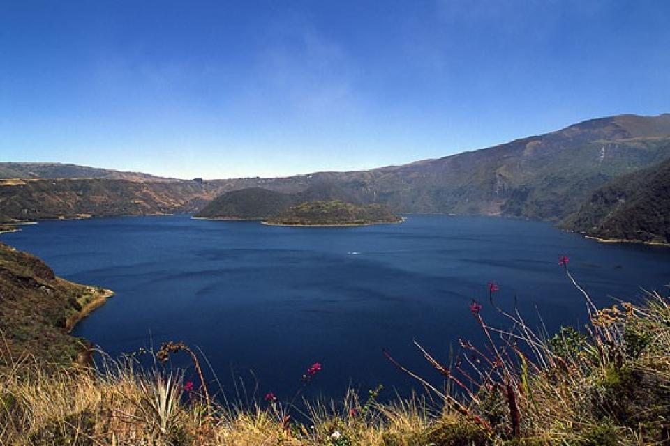 Les lacs de l'Otavalo , Equateur et Galapagos