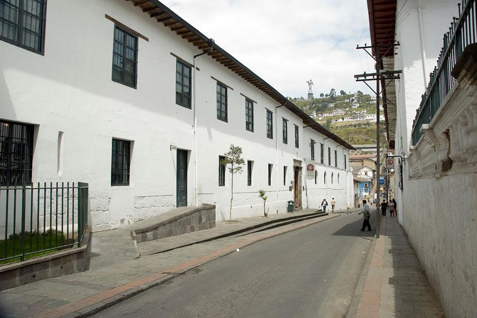The museums of Quito , Ecuador and Galapagos Islands