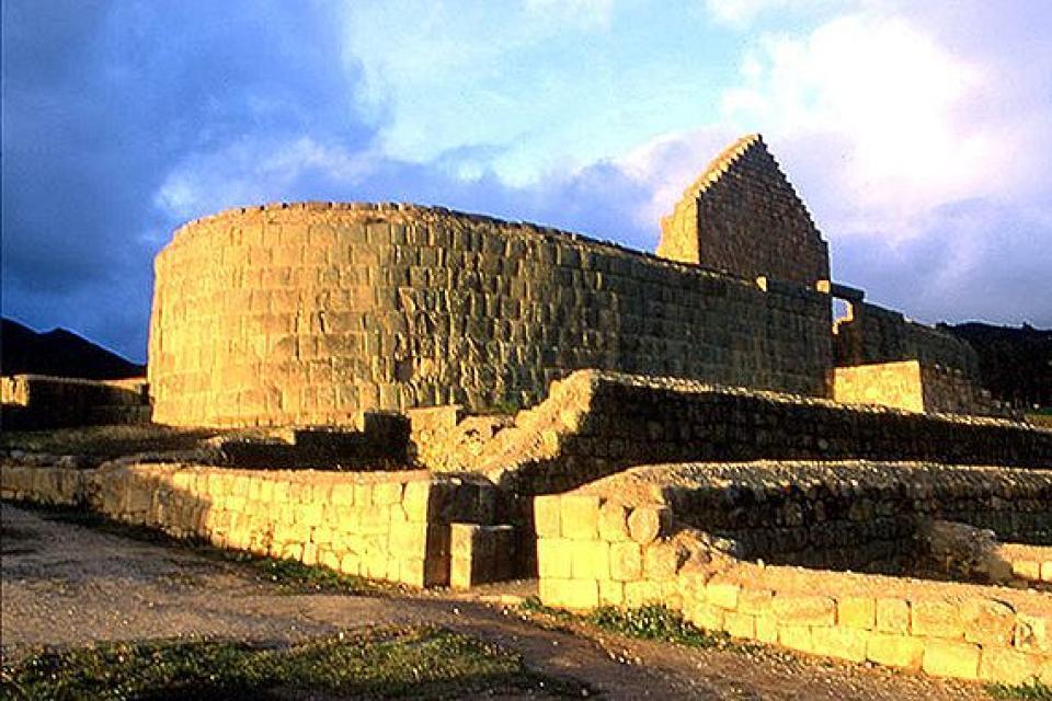 Le site inca d'Ingapirca , Equateur et Galapagos