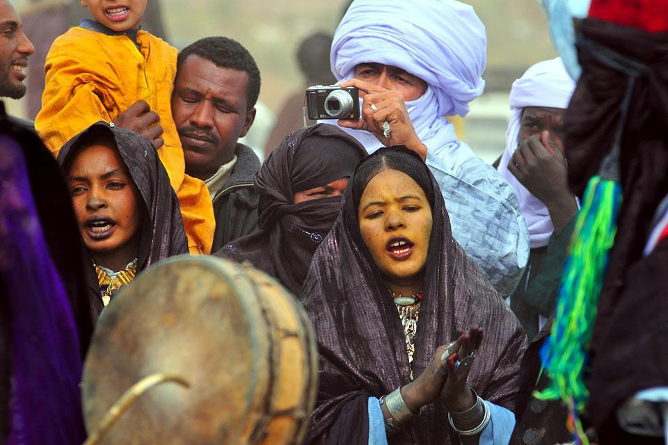 La música , Argelia