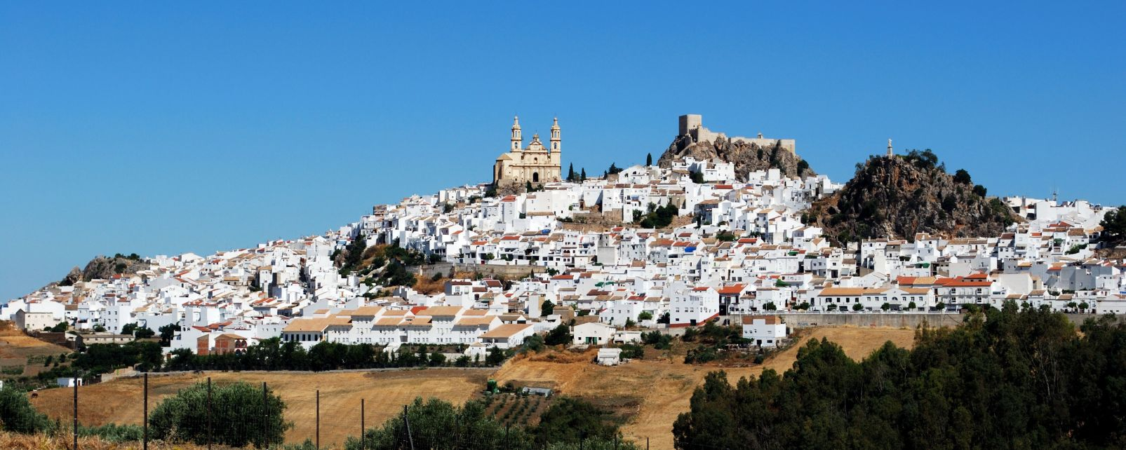 Die weißen Dörfer, Die Landschaften, Sevilla, Andalusien