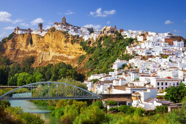 Arcos de la Frontera, Les villages blancs, Les paysages, Seville, Andalousie