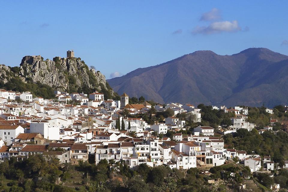 Los pueblos blancos , Gaucin, Provincia de Málaga , España