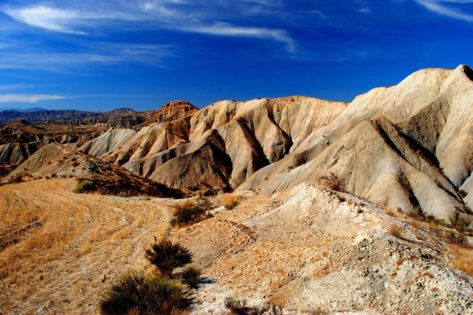 Le désert de Tabernas , Espagne