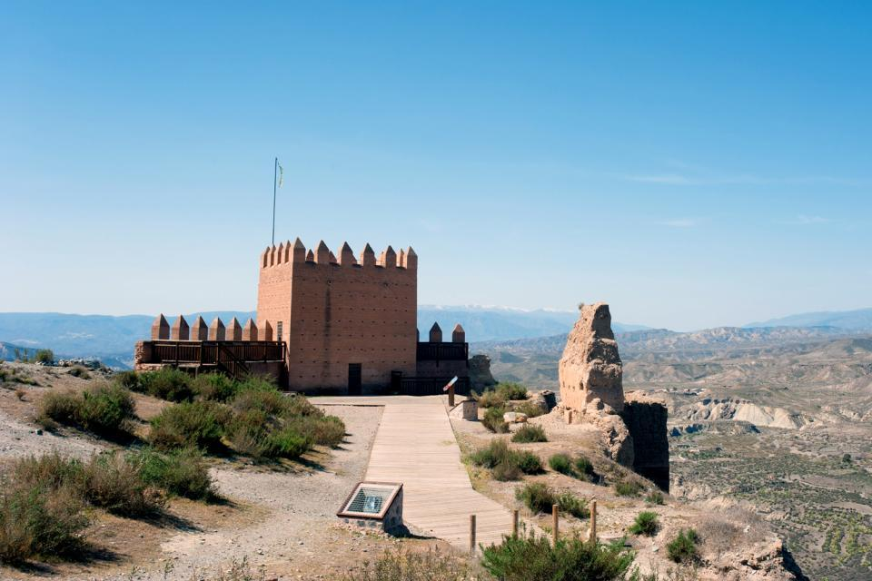 Le désert de Tabernas, Les paysages, Décor de cinéma, Almeria, Andalousie