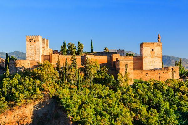 Die maurischen Schlösser, Die Landschaften, Andalusien