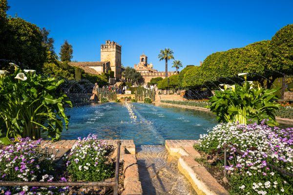 L'Alhambra, Granada, I castelli moreschi, I paesaggi, Andalusia