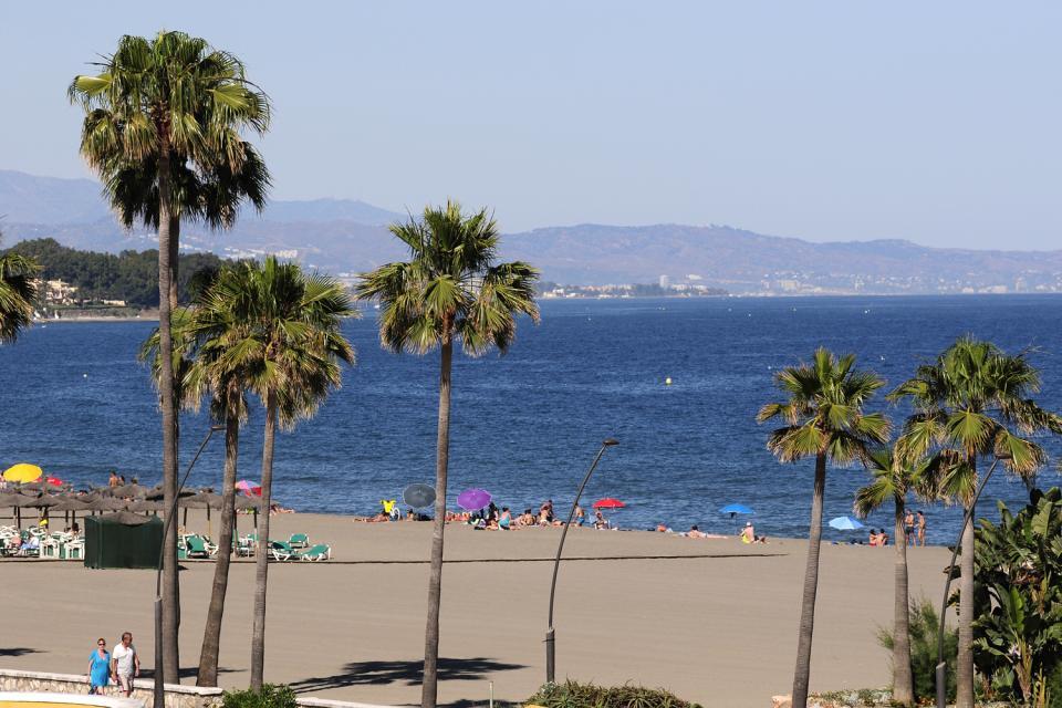 Costa del Sol , Estepona , La plage d'Estepona , Espagne