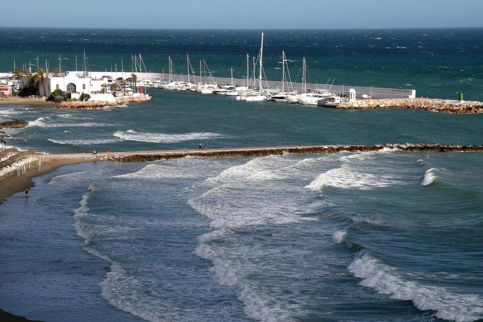 Les côtes, Benalmadena