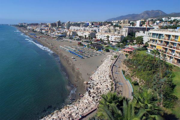 Costa del Sol , Benalmadena Costa , Torremolinos , Spanien