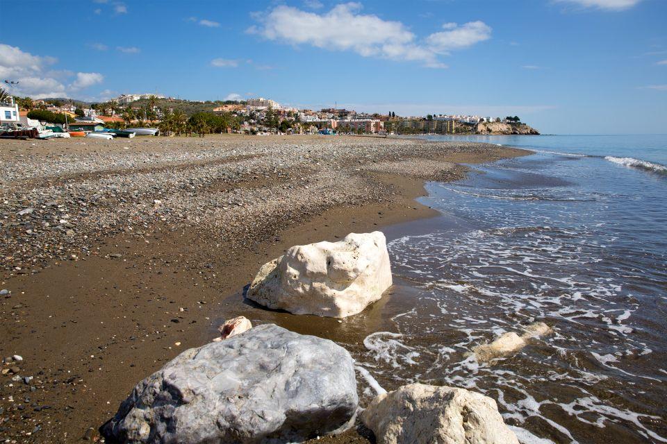 Les côtes, Malaga, rincon de la victoria, espagne, andalousie, europe, falaises
