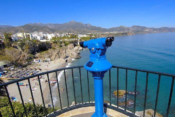 Costa del Sol , Nejra , Nerja , Spanien