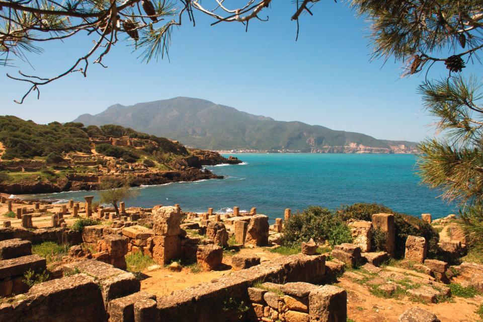 Las ruinas romanas , Tipasa , Argelia