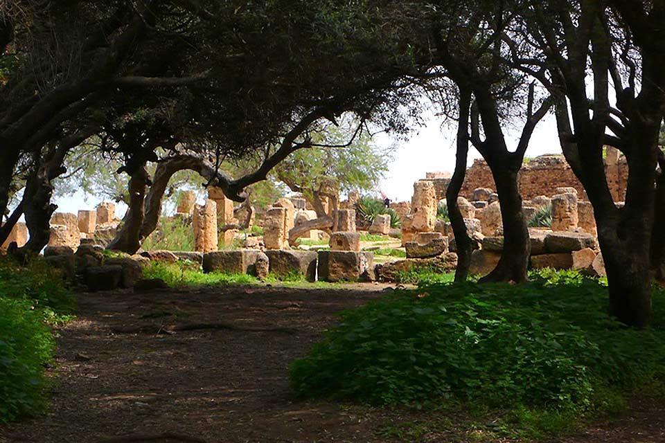 Las ruinas romanas , Yacimientos arqueológicos importantes , Argelia