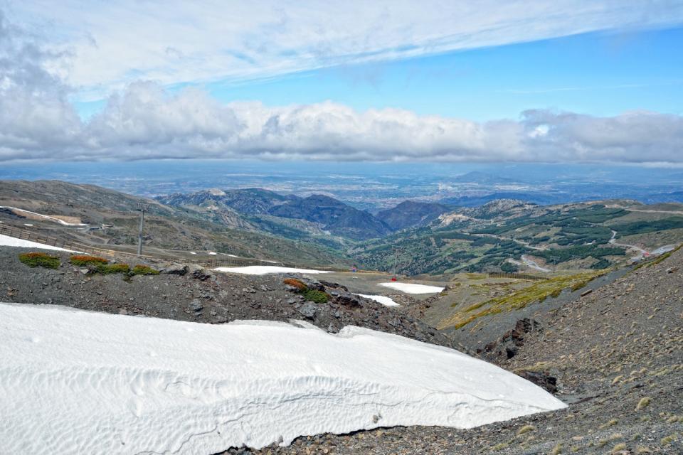 Parc National de la Sierra Nevada , Fonte de glacier , Espagne