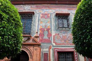Le musée Romero de Torres (Cordoue) , Robe de flamenco , Espagne