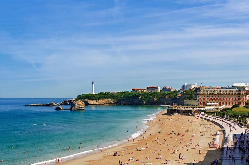 Séjour à Biarritz : dès 79€ le vol A/R pour la Côte Basque cet été !