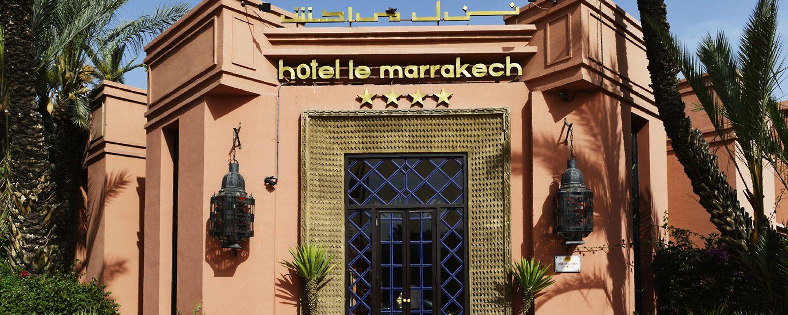h tel le marrakech marrakech maroc. Black Bedroom Furniture Sets. Home Design Ideas