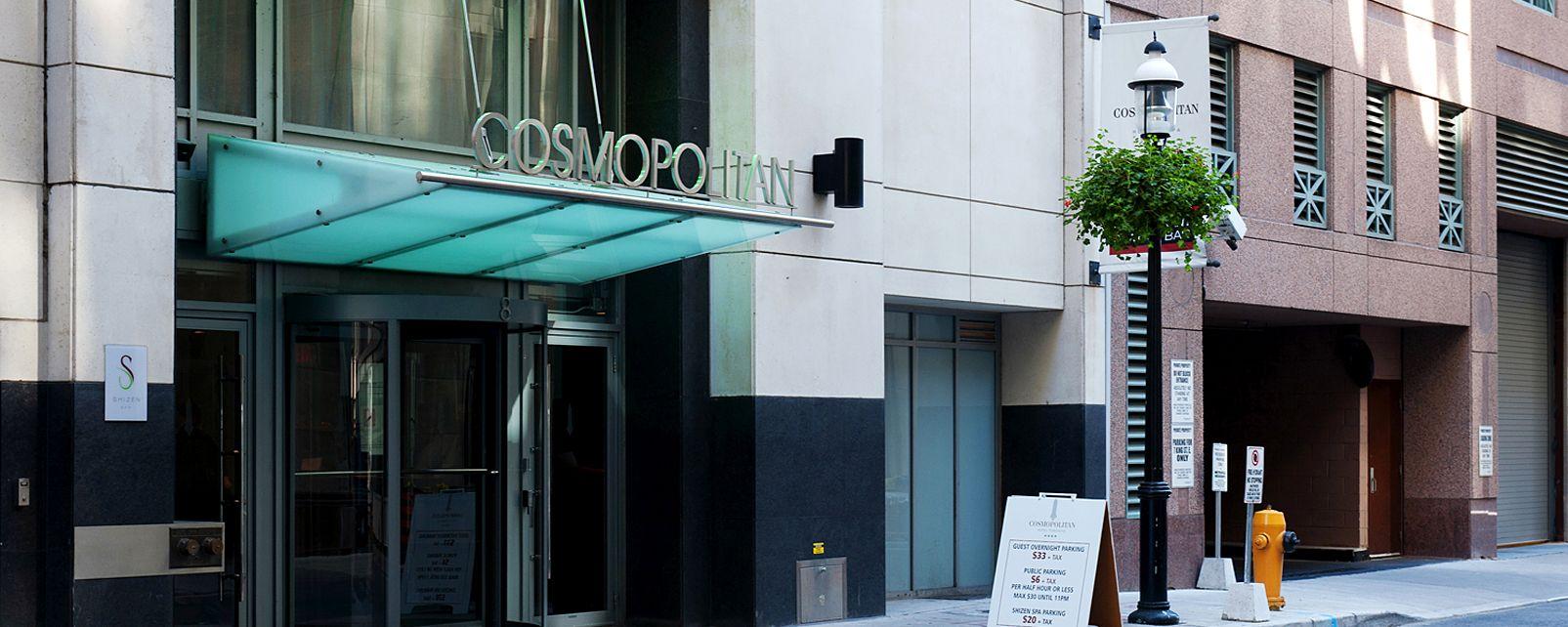 Hotel Cosmopolitan Toronto Hotel and Spa