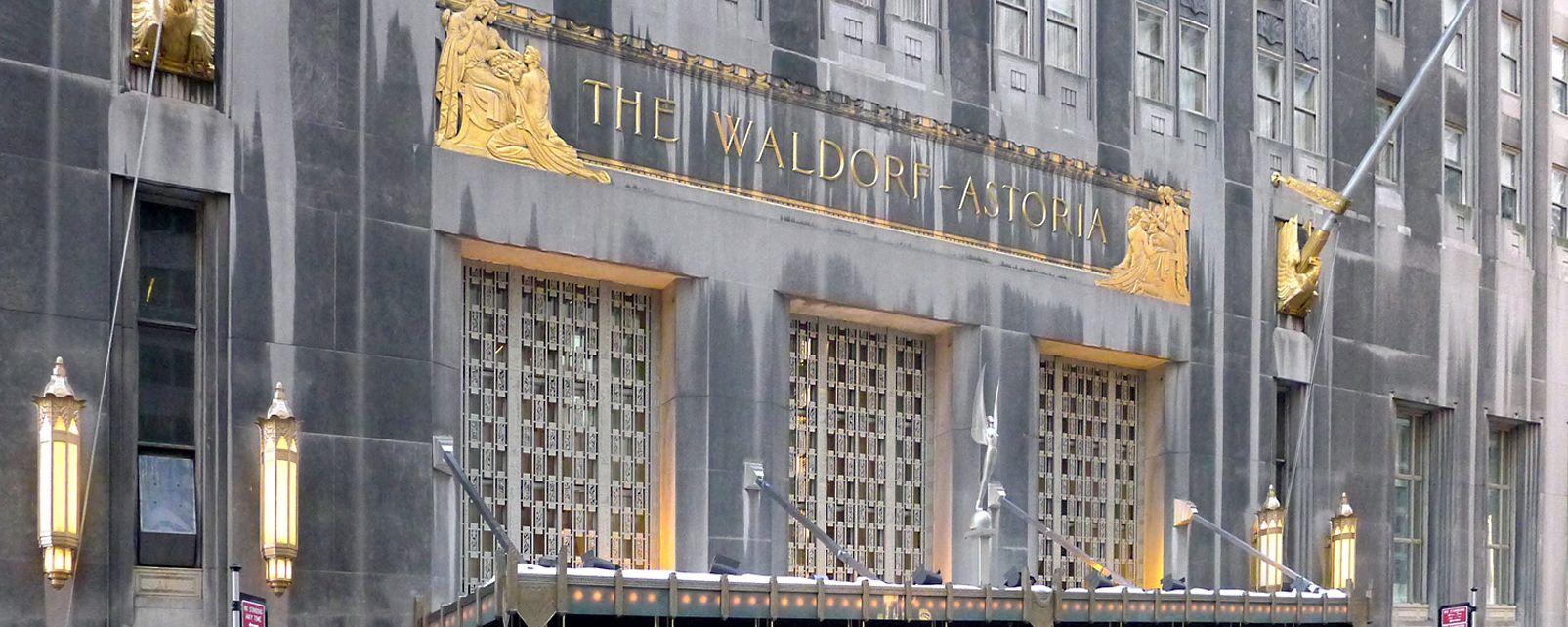 Hôtel Waldorf Astoria