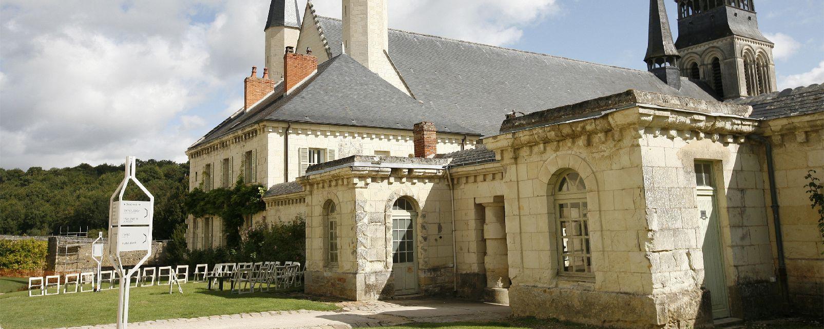 h tel abbaye royale de fontevraud fontevraud l 39 abbaye. Black Bedroom Furniture Sets. Home Design Ideas