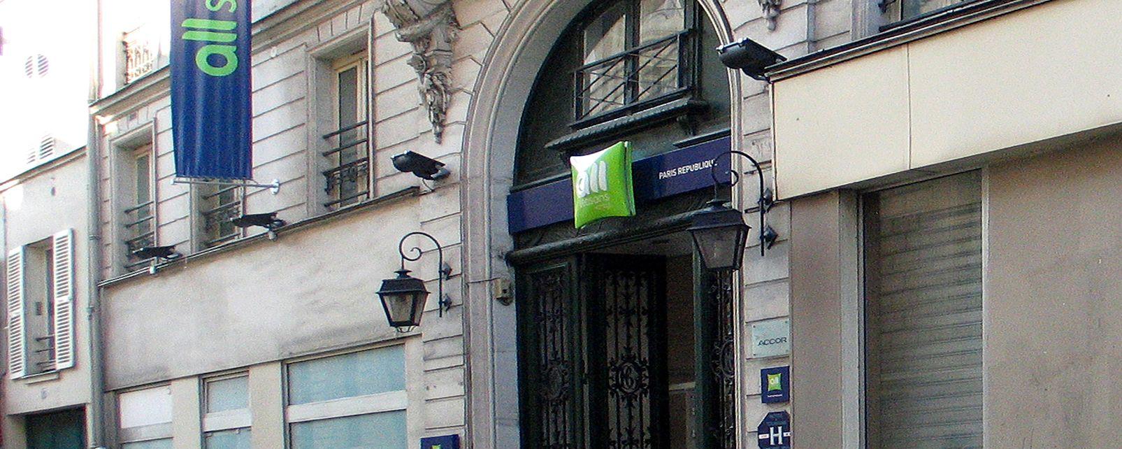 H Tel All Seasons Paris R Publique Paris France