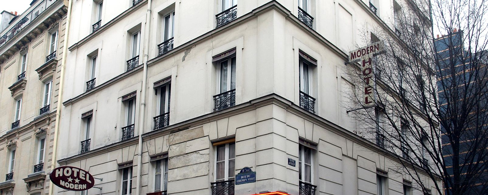 Hotel atel modern paris in for Hotel moderne paris