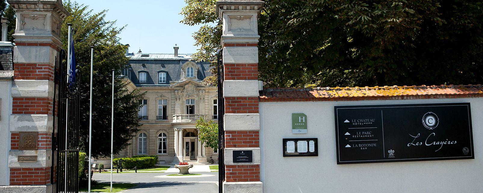 Hôtel Chateau Les Crayeres