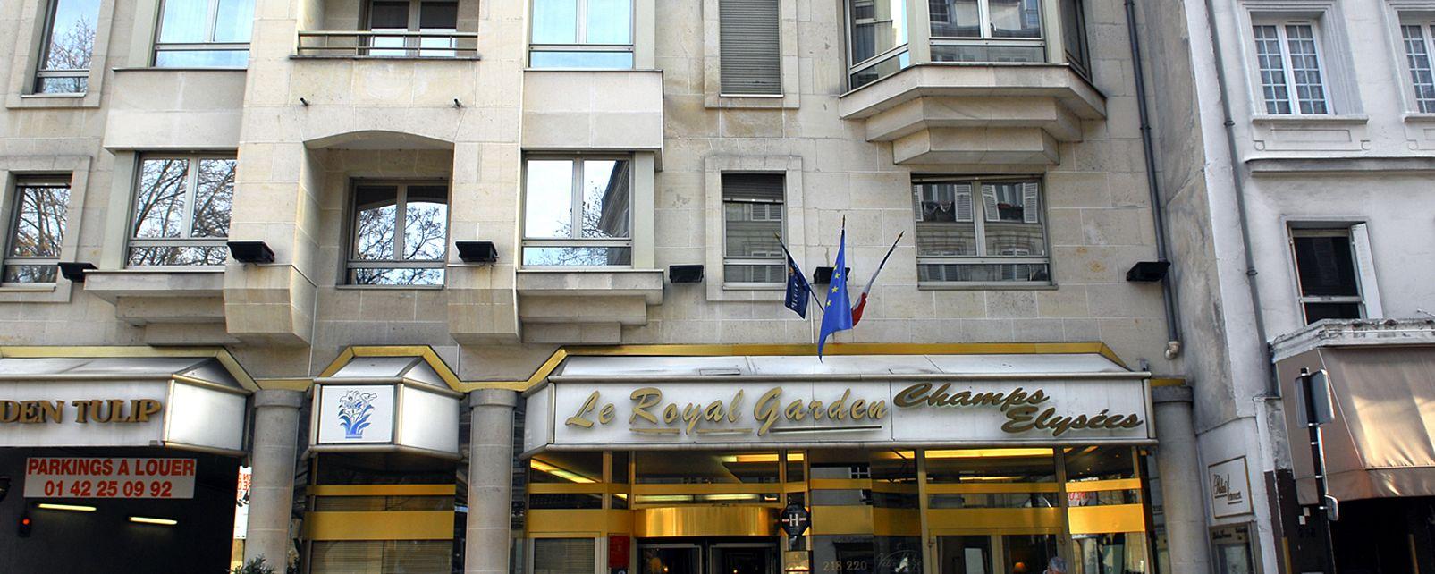 Hotel Golden Tulip Champs Elysees