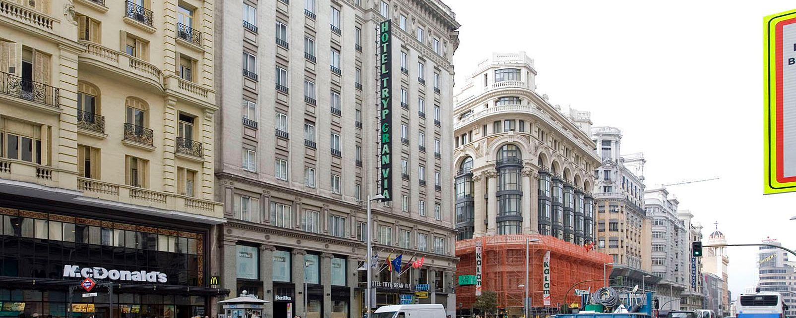 Hotel Tryp Gran Via In Madrid