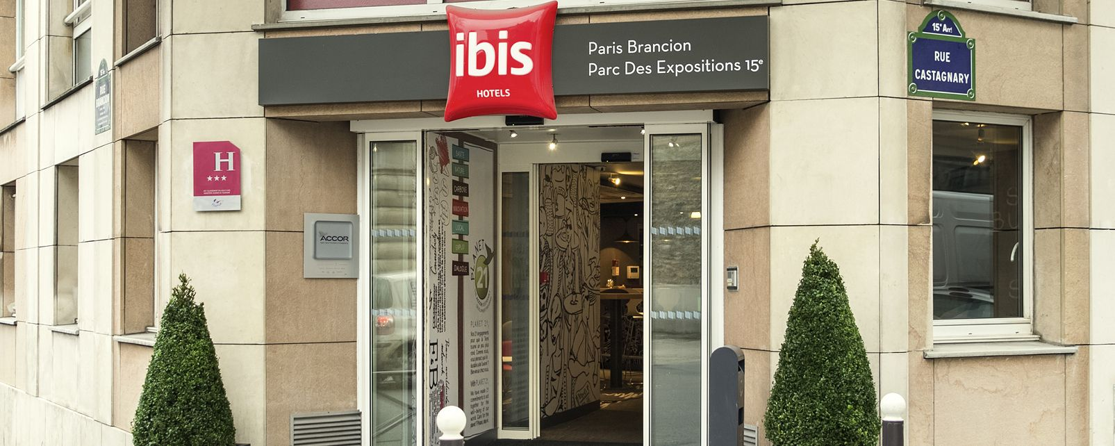 Hotel ibis brancion parc des expositions paris frankreich for Parc des expositions porte de versailles parking