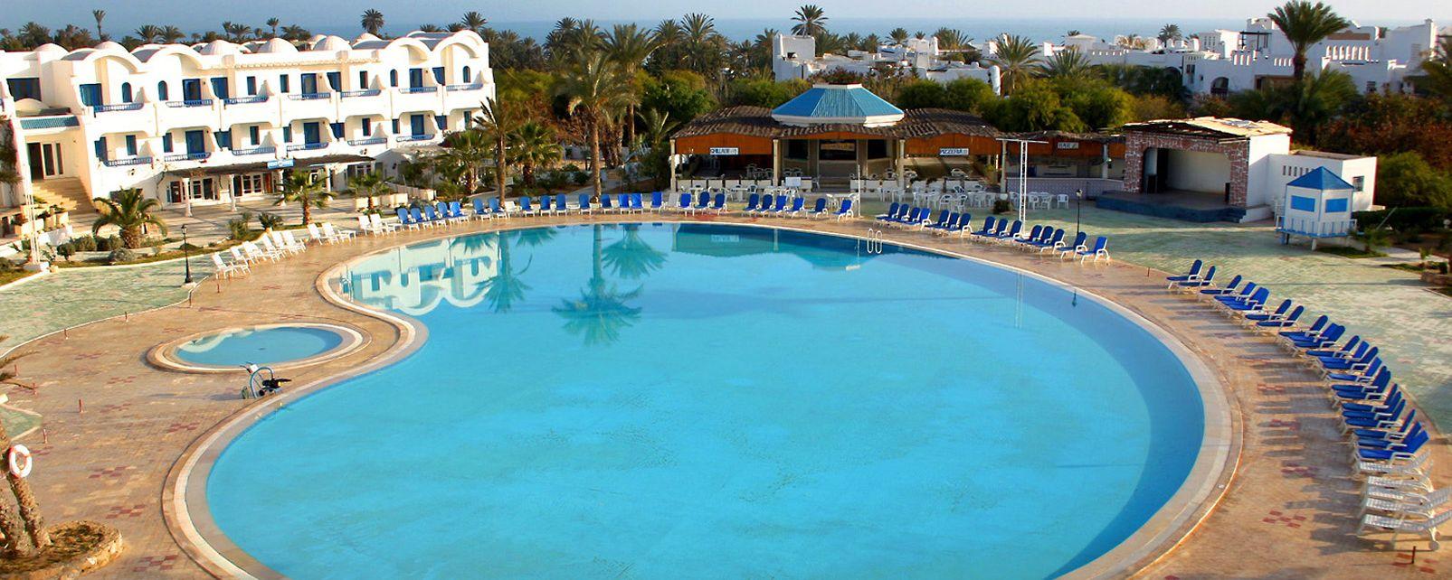 Hotel giktis in zarzis tunisia for Hotels zarzis