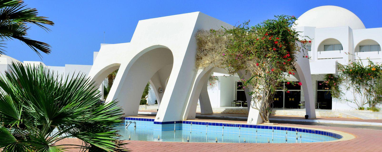 Hotel djerba plaza thalasso spa djerba tunesien for Hotels djerba
