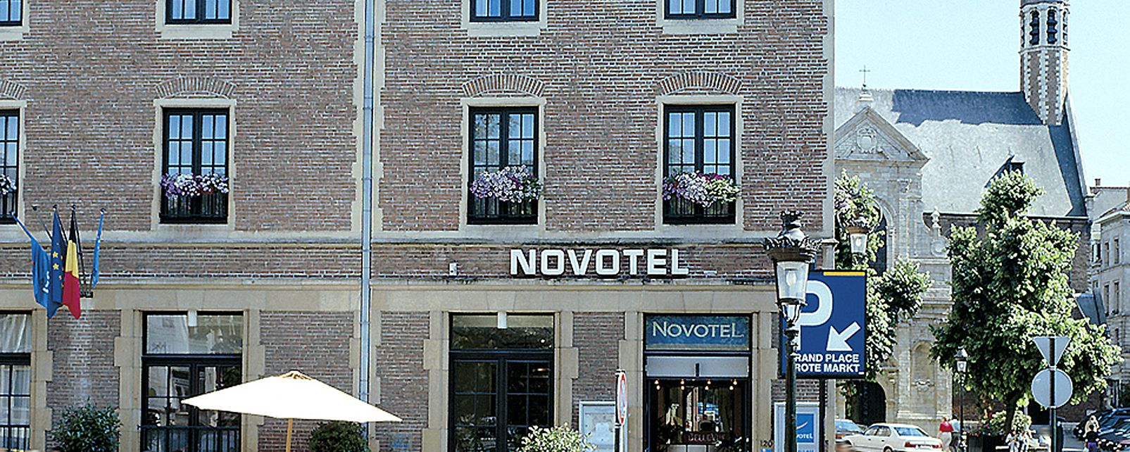 Hotel Novotel off Grand'Place