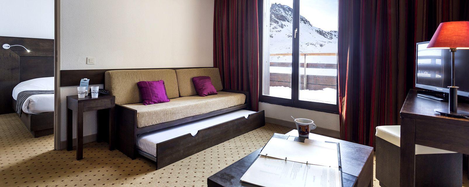 h tel club belambra le diva tignes. Black Bedroom Furniture Sets. Home Design Ideas