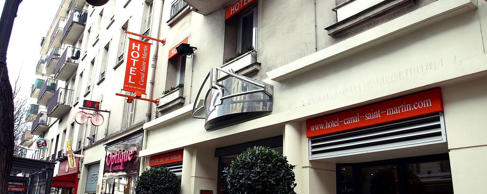 Hotel Libertel Canal St Martin
