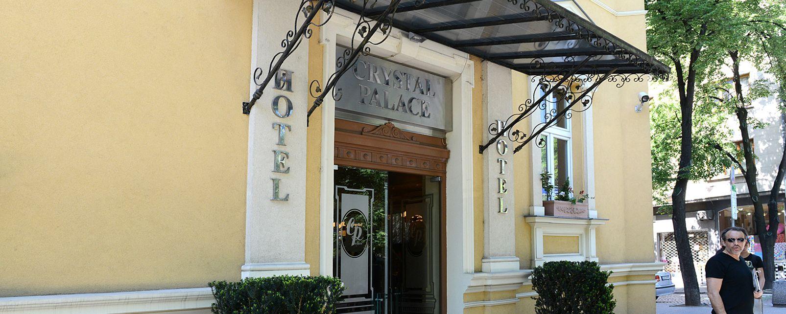 Hôtel Crystal Palace Boutique Hotel