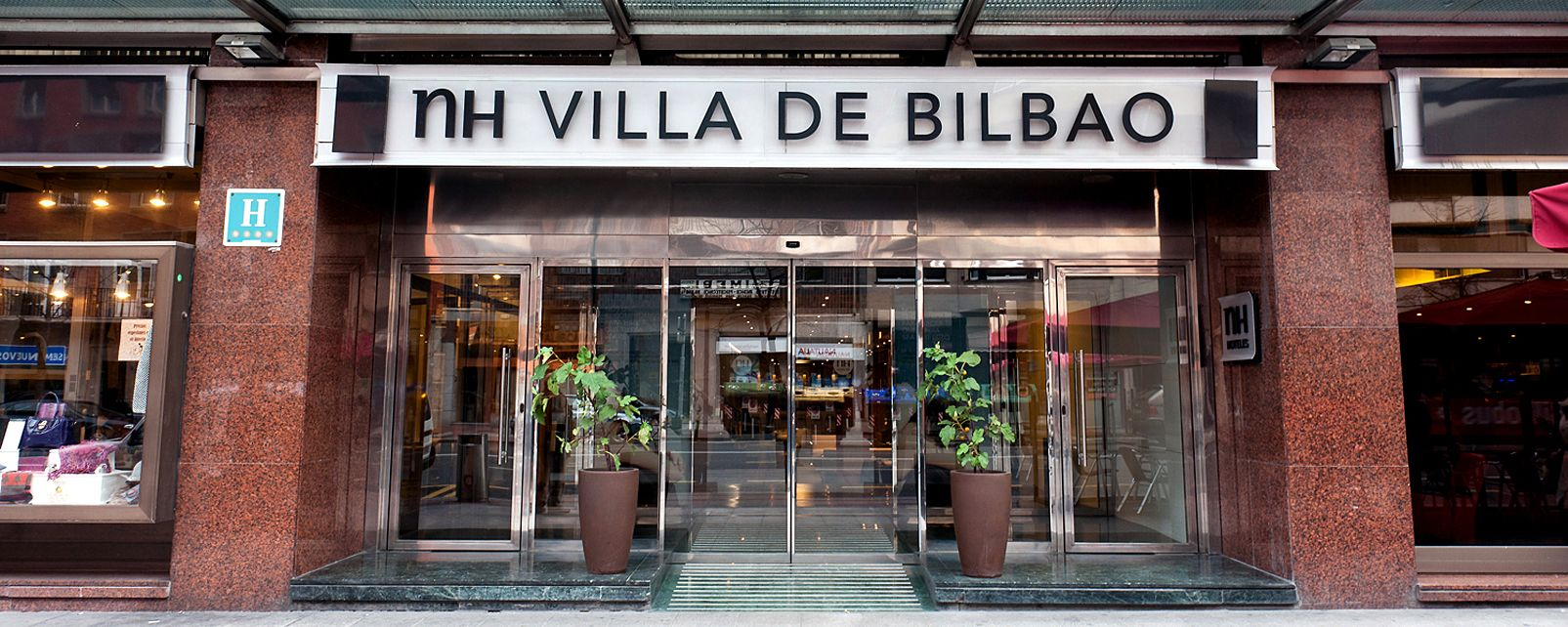 Hôtel NH Villa De Bilbao